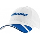 Babolat Microfiber Cap (Wht/ Blu) - Babolat Hats, Caps, and Visors Tennis Apparel