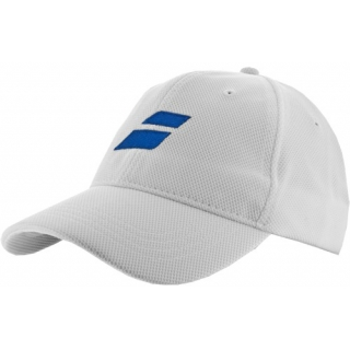Babolat Performance Mesh Cap (White/ Royal)