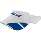 Babolat Visor (Wht/ Blu) - Babolat Hats, Caps, and Visors Tennis Apparel