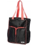 Prince Courtside Tote Bag (Black/ Coral) - Prince Tennis Bags