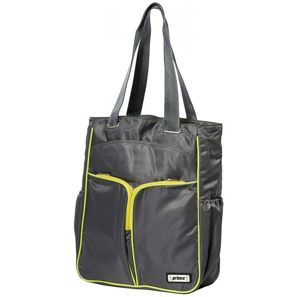 Prince Courtside Tote Bag (Grey/ Citron)
