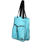 Prince Courtside Tote Bag (Aqua/ Black) - Prince Tennis Bags