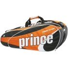 Prince Tour Team 12 Pack (Black/White/Orange) - Prince Tour Team Collection Tennis Bags
