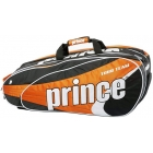 Prince Tour Team Orange 9 Pack (Black/ White/ Orange) - Prince Tour Team Collection Tennis Bags