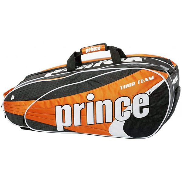 Prince Tour Team Orange 9 Pack (Black/ White/ Orange)