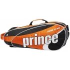 Prince Tour Team Orange 6 Pack (Black/ White/ Orange) - Prince Tour Team Collection Tennis Bags