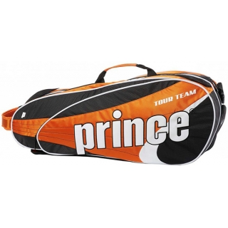 Prince Tour Team Orange 6 Pack (Black/ White/ Orange)