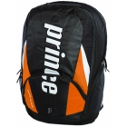 Prince Tour Team Orange Backpack (Black/ White/ Orange) - Prince Tour Team Collection Tennis Bags
