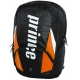 Prince Tour Team Orange Backpack (Black/ White/ Orange) - New Prince Racquets & Bags