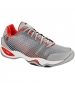 Prince Men's T22 Lite Tennis Shoes (Grey/Red) - Tennis Shoes
