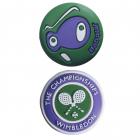 Babolat Looney Wimbledon Tennis Racquet Vibration Dampener X2 -