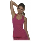 Bloq-UV Criss Cross Bra Top (Passion Pink) - Women's Outerwear Warm-Ups Tennis Apparel