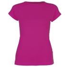 Sofibella Women's Classic Mock Sleeve Tennis Top (Raspberry) - Women's Cap-Sleeve Shirts
