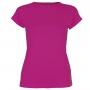 Sofibella Women's Classic Mock Sleeve Tennis Top (Raspberry)