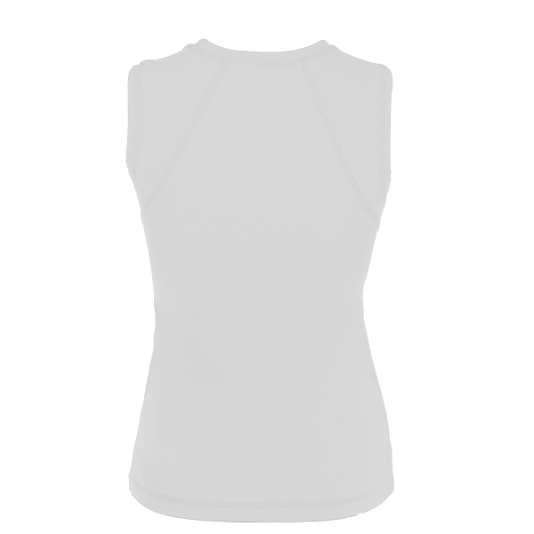 Sofibella Women's Classic Sleeveless Tennis Top (White)