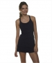 Bloq-UV Racer Back Tank Top (Black) - Bloq-UV Tennis Apparel