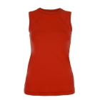 Sofibella Women's Classic Sleeveless Tennis Top (Red) - Sofibella Women's Team Tennis Apparel