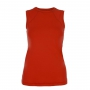 Sophibella Women's Classic Sleeveless Tennis Top (Red)