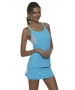 Bloq-UV Racer Back Tank Top (Lt Turquoise) - Bloq-UV Tennis Apparel