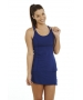 Bloq-UV Racer Back Tank Top (Navy) - Bloq-UV Tennis Apparel