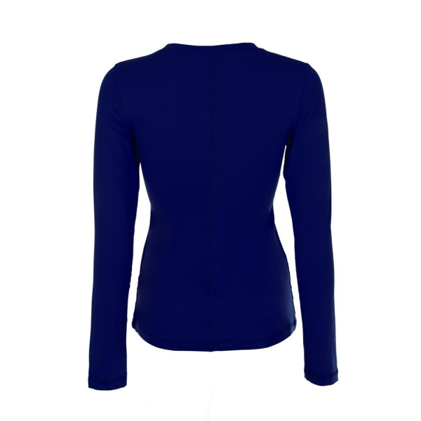 Sophibella Women's Long Sleeve Tennis Top (Navy)