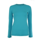 Sofibella Women's Long Sleeve Tennis Top (Ultra Marine) - Sofibella Women's Team Tennis Apparel