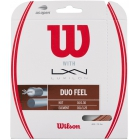 Wilson Duo Feel Hybrid NXT & Luxilon Element 16g Tennis String Set - Luxilon Tennis String