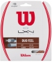 Wilson Duo Feel Hybrid NXT & Luxilon Element 16g Tennis String Set - Hybrid and 1/2 Sets Tennis String