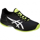 Asics Men's Gel Court Speed Tennis Shoes (Black/Yellow) - New Tennis Shoes