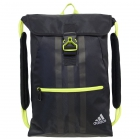 adidas Ultimate Core II Sackpack (Black/Solar Yellow) - Adidas Tennis Bags