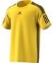 Adidas Men's Barricade Tennis Tee Shirt (Yellow/Black) - Men's T-Shirts & Crew Necks