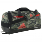 Adidas Team Issue Small Duffel Bag (Cab Camo/Bold Orange) - Adidas Tennis Bags