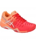 Asics Women's Gel Resolution 7 Tennis Shoes (Red/Silver) - Women's Tennis Shoes