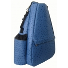 Jet Ostrich Blue Steel Small Sling - New Arrivals
