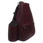 Jet Burgundy Wine Small Sling - Jet Small Tennis Bags
