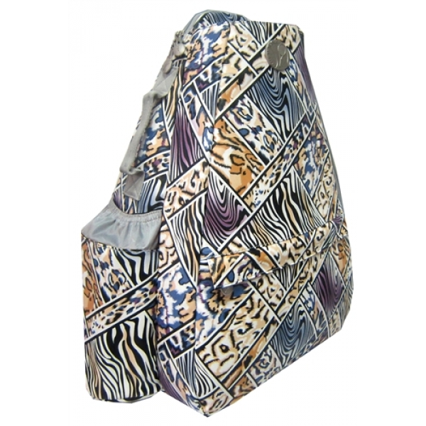 Jet Safari Mosaic Small Sling Convertible