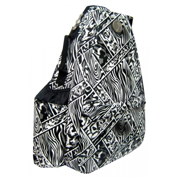Jet African Mosaic Small Sling Convertible