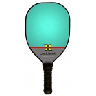 Paddletek Power Play Pro Paddle (Turquoise) - Tennis Court Equipment