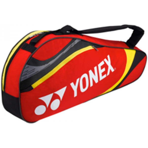 Yonex Tournament Basic 3-Pack Racquet Bag (Red)