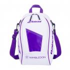 Babolat Tennis Cooler Bag Wimbledon (White/Purple) -