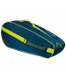 Babolat Club Line Racquet Holder x6 (Blue/Yellow)  - Babolat Tennis Bags