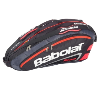 Babolat Team Racquet Holder x6 (Black/ Bright Red)