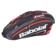 Babolat Team Racquet Holder x6 (Black/ Bright Red) - New Babolat Arrivals