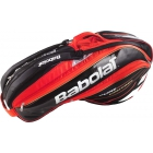 Babolat Pure Control Racquet Holder x6 (Black/Red) - Babolat Tennis Bags