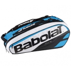 Babolat Pure Racquet Holder 12-Pack (Blue/White) - Babolat Tennis Racquets, Shoes, Bags and More #TennisRunsInOurBlood