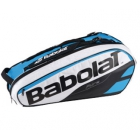 Babolat Pure Racquet Holder 6-Pack (Blue/White) - Tennis Bag Types