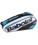 Babolat Pure Racquet Holder 6-Pack (Blue/White) - Babolat Tennis Bags
