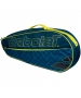 Babolat Club Line Racquet Holder x3 (Blue/Yellow) - Babolat Club Tennis Bags