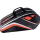 Babolat Team Racquet Holder x6 (Black/Fluoro Red) - Tennis Racquet Bags
