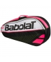 Babolat Club Line Racquet Holder x3 (Black/Pink) - Babolat Club Tennis Bags